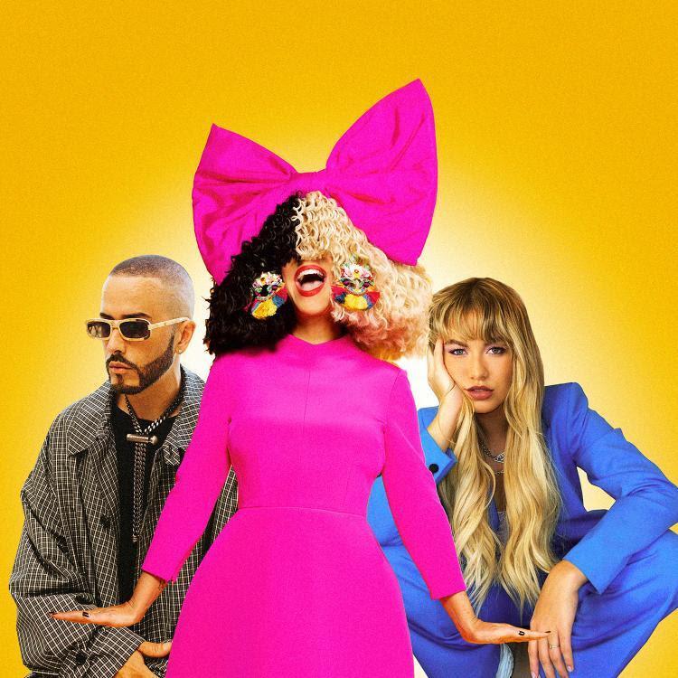 """Sia invita a Sofía Reyes y Yandel para su remix """"1 + 1"""""""