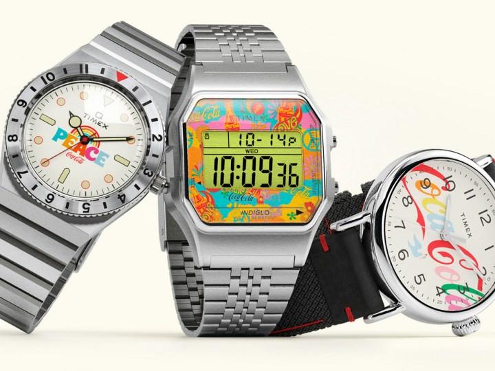 Timex x Coca-Cola se dan tiempo para Unity con el lanzamiento de la colección cápsula de edición limitada