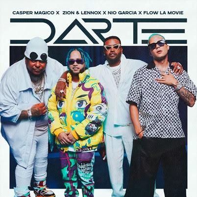 """Casper Mágico, Zion & Lennox, Nio Garcia y Flow La Movie se unen en provocativa canción """"Darte"""