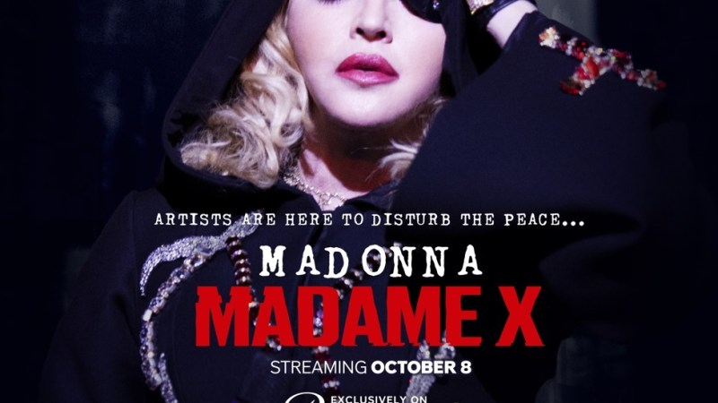 Llega a Latinoamérica el concierto exclusivo de Madonna: Madame X