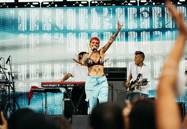 Cazzu se convierte en la única latina en el Festival Made In América