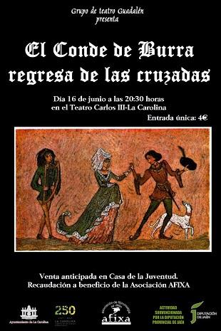 Cartel de El conde de Burra Regresa de las Cruzadasok