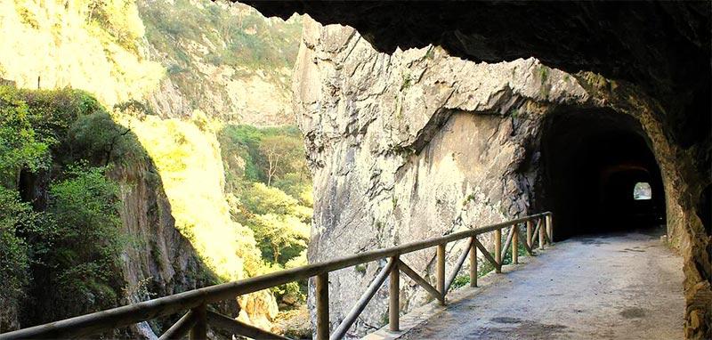 Qué ver en Asturias rural - Ruta del Oso -La Casa Azul de Las Caldas