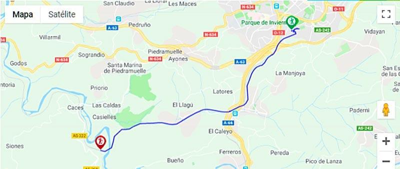 Turismo Activo - Que hacer en Las Caldas de Oviedo