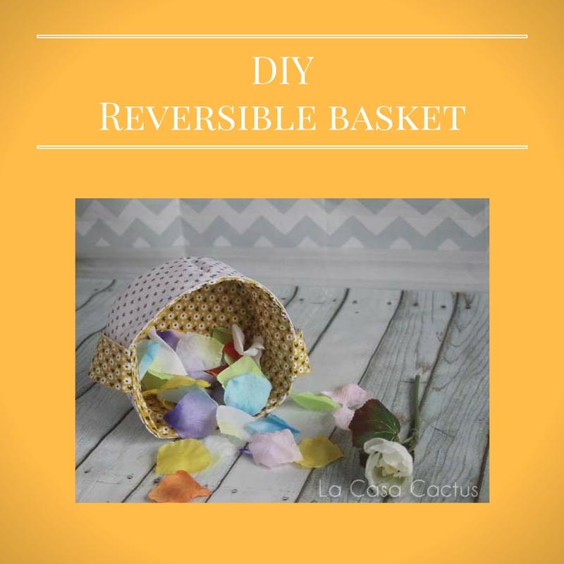 {DIY} Reversible (Easter) Basket