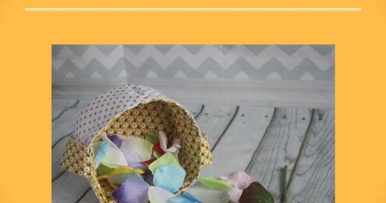 {DIY} Un panier pour chercher les œufs de Pâques