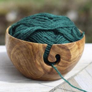 bol à laine bois