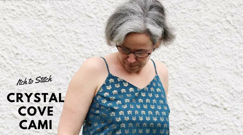 {Test] Crystal Cove Cami, Itch to Stitch