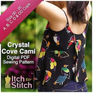 Itch to Stitch Crystal Cove Ad