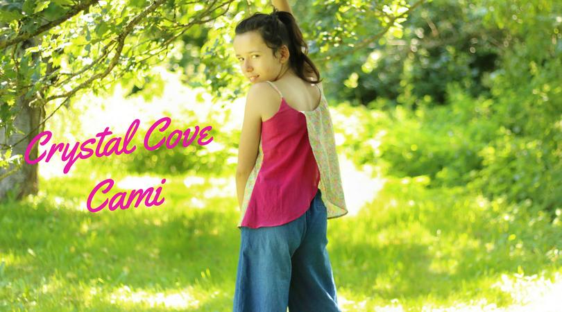 Crystal Cove Cami, débardeur pour jeune demoiselle