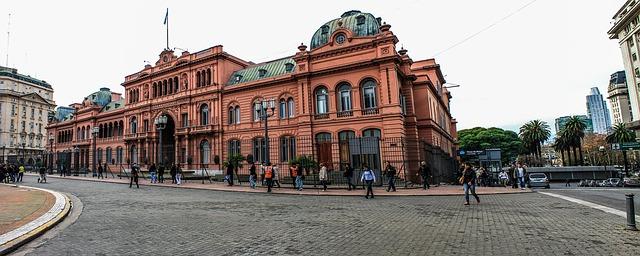 l'Argentine casa rosada