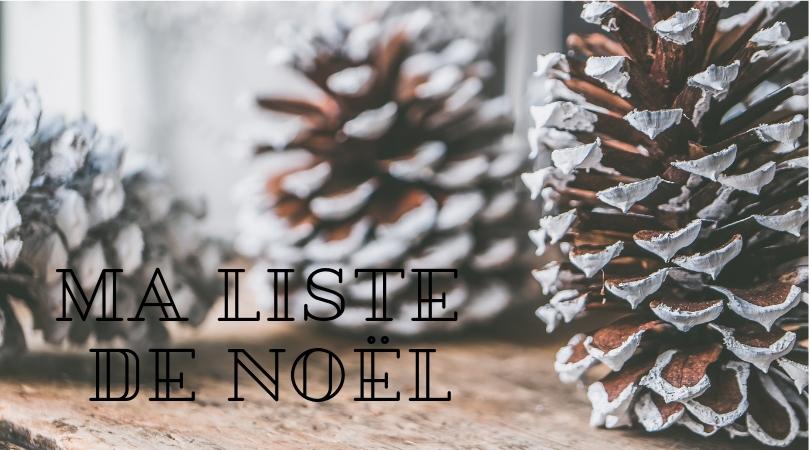 Ma petite liste de Noël Etsy
