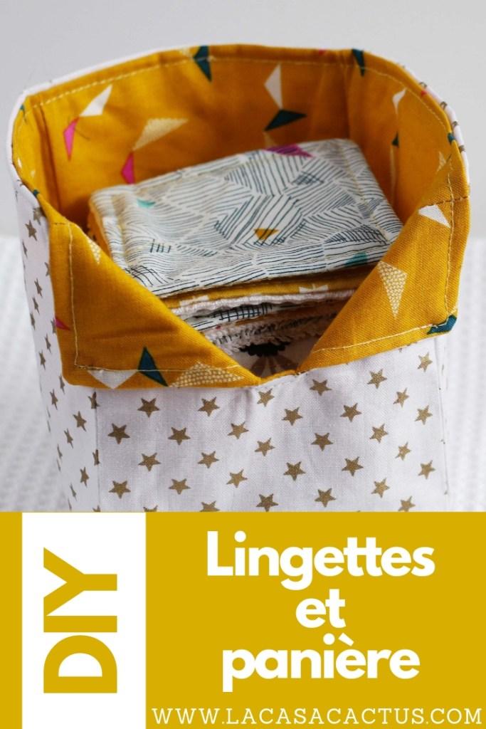 Lingettes DIY, La Casa Cactus