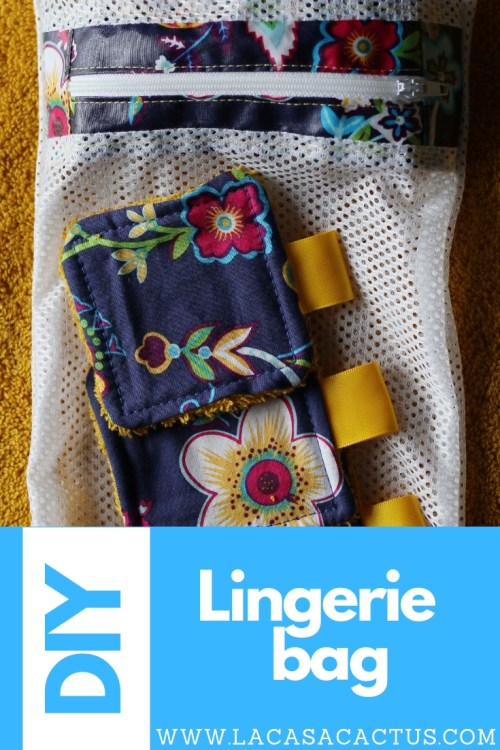 DIY Lingerie bag, La Casa Cactus