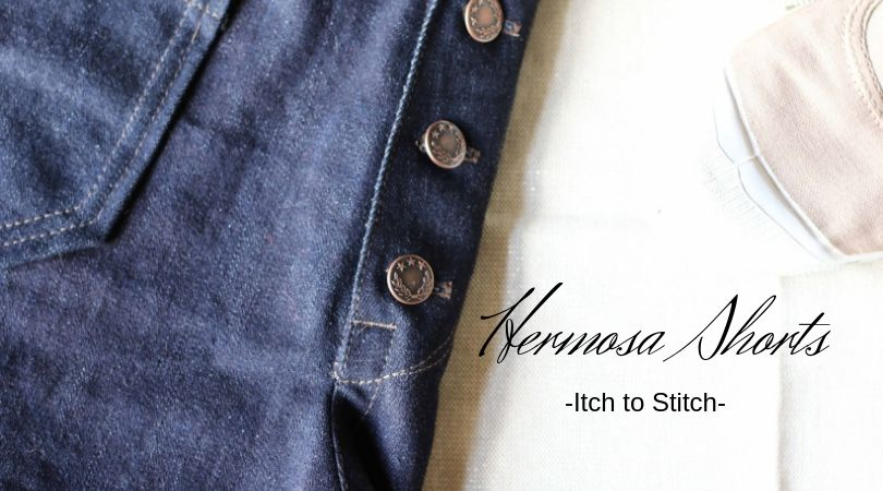 {Test} Le short Hermosa, Itch to Stitch