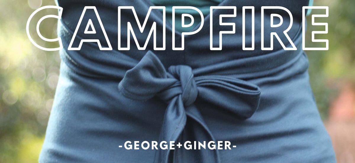 Campfire, la salopette en jersey de George+Ginger