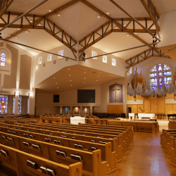 La Casa de Cristo Lutheran Church Traditional Worship Sanctuary on 6300 E Bell rd. Scottsdale, Arizona