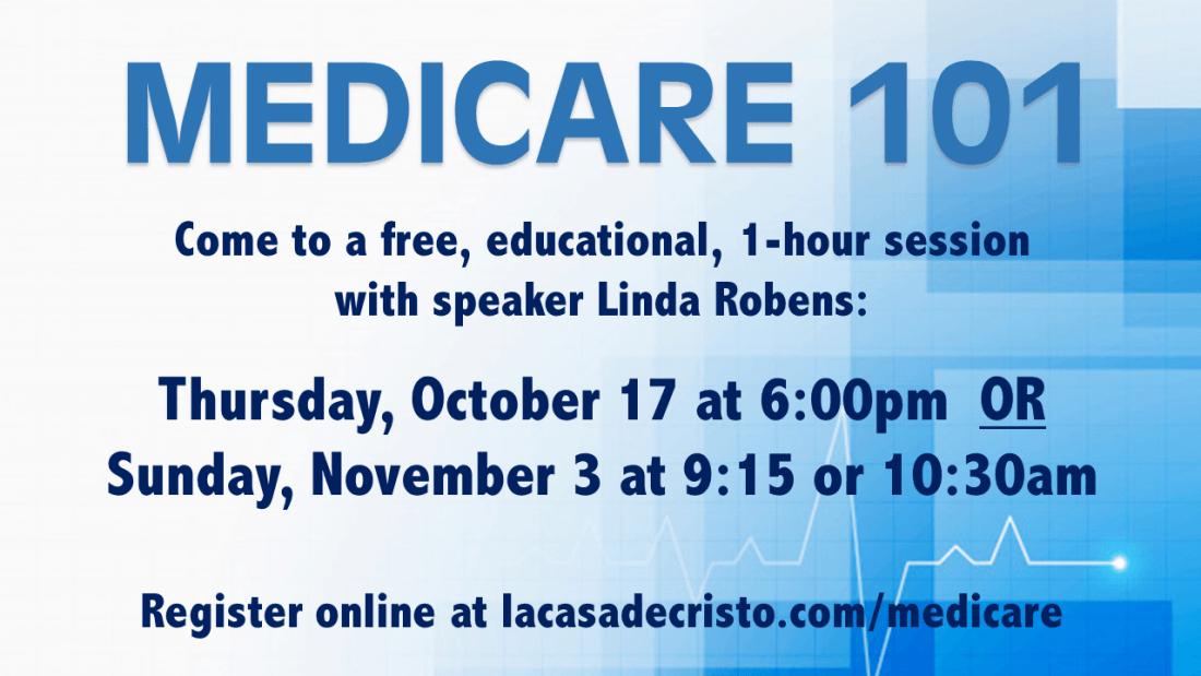 SLIDE - Medicare 101 - October 2019