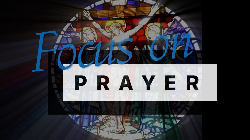 Focus on Prayer - Logo - Banner Wide