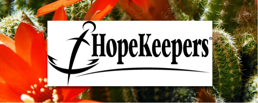 HopeKeepers LOGO 2020 - Health and wellness - La Casa de Cristo Lutheran Church Scottsdale Arizona