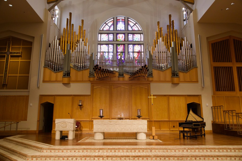 organ and sanctuary