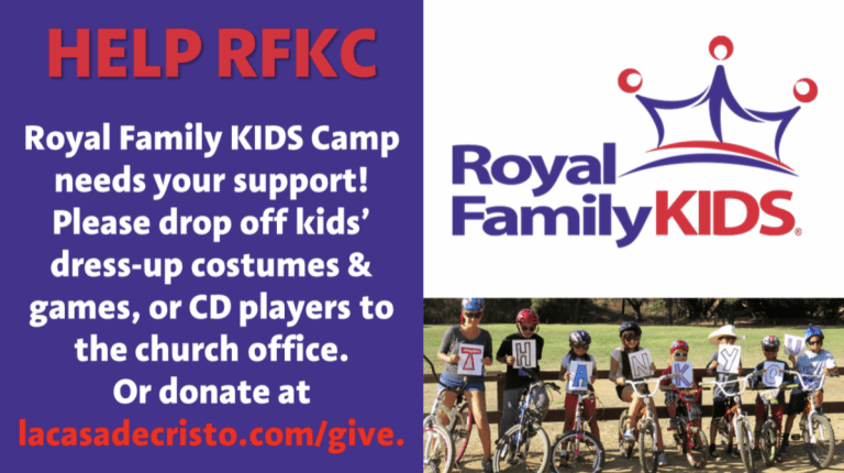 Royal Family Kids Camp scottsdale arizona church