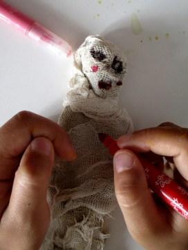 La momia de Nur está ya preparada