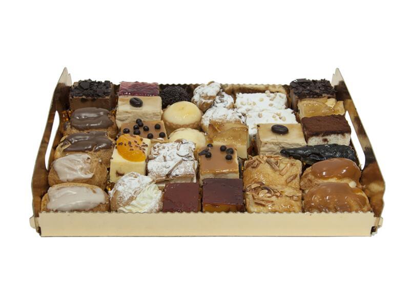 Bandeja de 30 pasteles variados