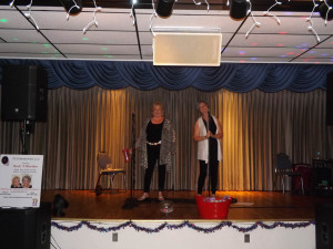 "Linda and Carolyn, ""Rock 'N Rhythm"" perform at July's Activity Association dance."