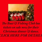 Boat Club Christmas Dinner – Dec 2017