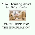 Lending Closet for Baby Needs – 2017