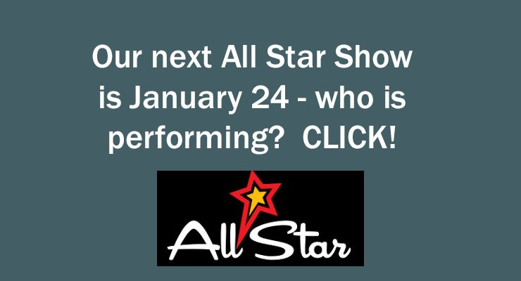 January 24, 2018 All Star Show