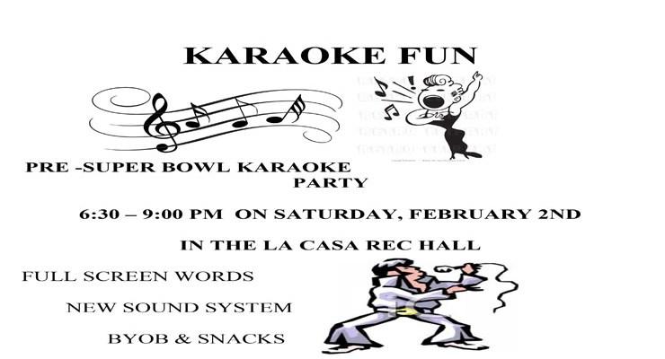 Karaoke Fun February 2, 2019