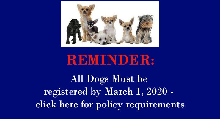 Pet Registration Policy