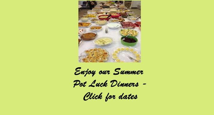 Summer Potlucks for Summer 2019