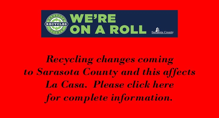 Recycling Changes Coming to Sarasota County