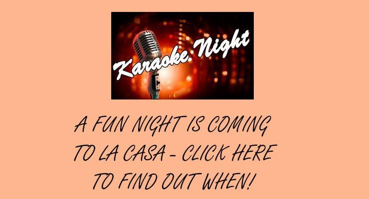Karaoke Party – January 18, 2020