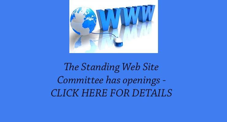 Website Committee Openings – October 2020