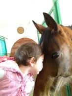 Affetto tra bimbi e cavalli