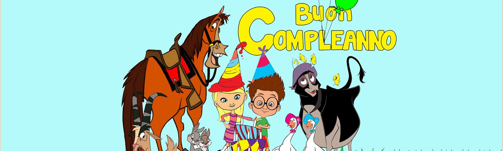 Feste di compleanno in cascina con gli animali