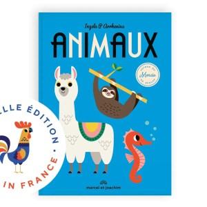 Animaux autour du monde, livre, imagier, marcel et Joaquim