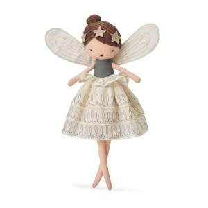 poupée de chiffon fee-mathilda-avec-robe-ecrue-picca-loulou poupée de chiffon