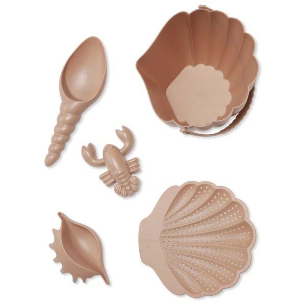 ensemble de plage konges slojd seau coquillage set de plage
