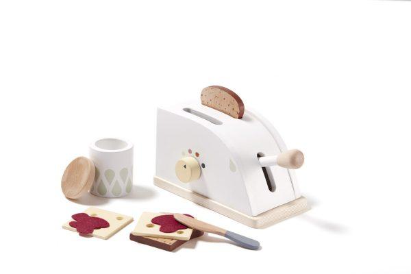 Grille pain en bois jeux en bois kids concept jouet ludique