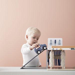 Centre de service automobile en bois kids concept