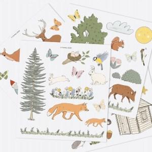 Jeu de magnets - Dans la forêt ferflex