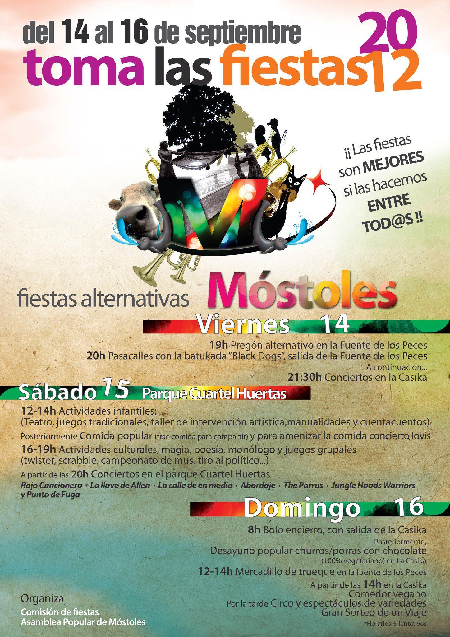 fiestas populares mostoles septiembre 2012