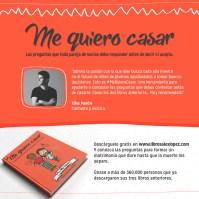 Recomendación de Kike Pavón del libro Me Quiero Casar del Pastor Alex López