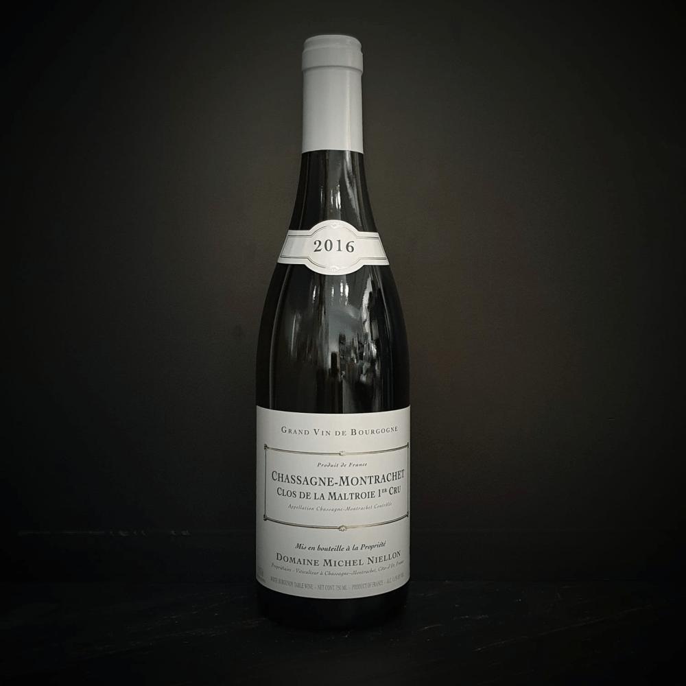 AOC Chassagne-Montrachet 1er Cru - Clos de la Maltroie - Domaine Michel Niellon