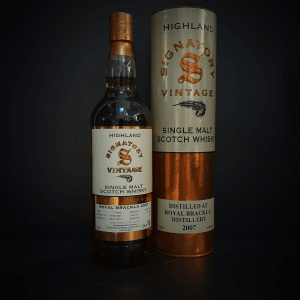 Whiskys : Single Malt Scotch Whisky - Signatory Vintage - Royal Brackla Vintage 2007 (Highland)